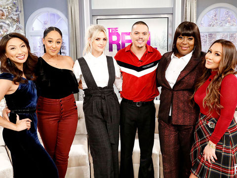 Tuesday on 'The Real': Ashlee Simpson, Evan Ross