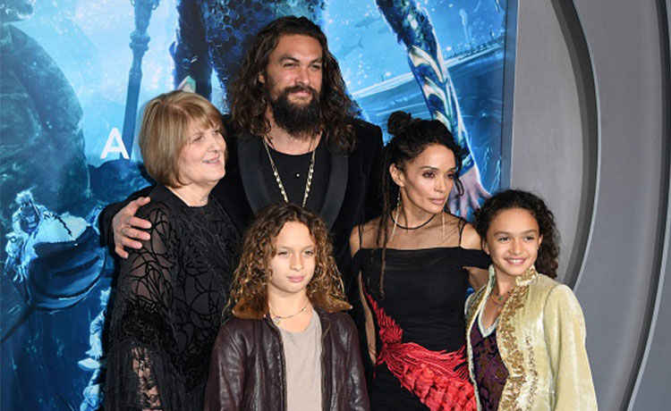 Jason Momoa and Lisa Bonet Are Major Couple Goals at 'Aquaman' Premiere