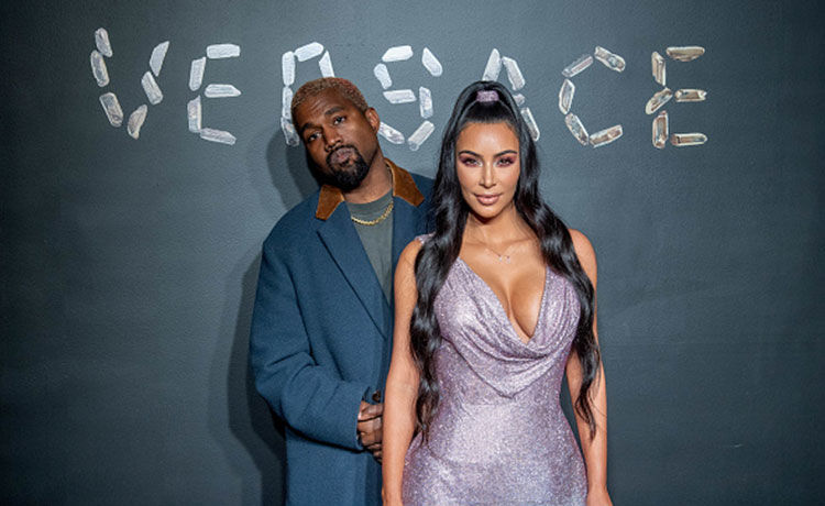 Kanye West Gifts Kim Kardashian Cartier Necklace Inspired by Text Message!