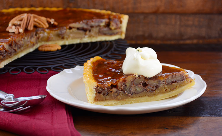 Non-Alcoholic Bacon Bit Pecan Pie