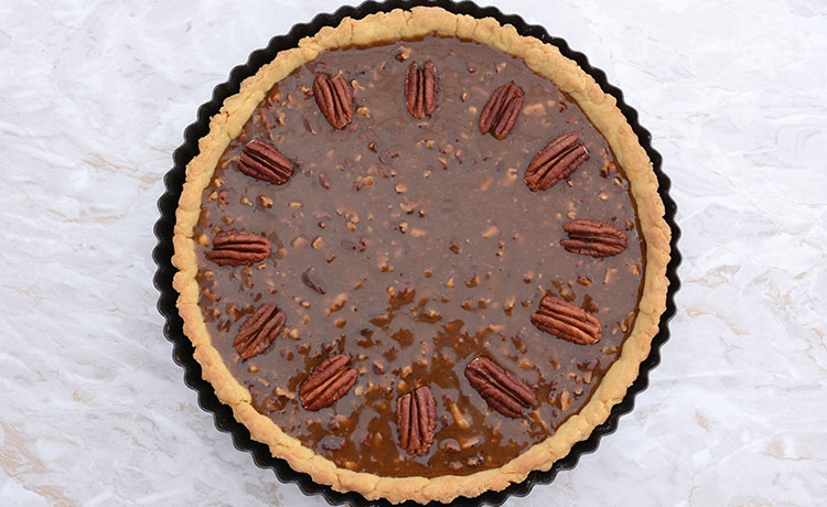 Bacon Bit Pecan Pie