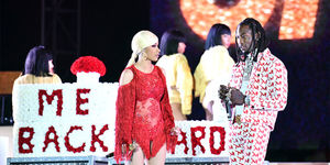 Offset Crashes Stage to Beg Cardi B to Take Him Back!