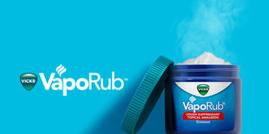 A Moment of Relief with Vicks VapoRub