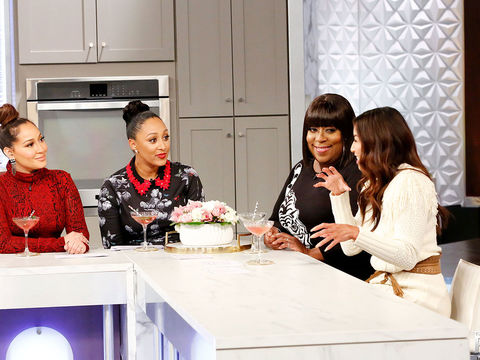 Loni Love Challenges Her Co-Hosts To a Dry January… Sort Of.