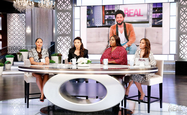 The Real Hosts Express Their Love and Support to Jussie Smollett