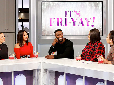 Aldis Hodge Talks About Steamy Love Scenes with Taraji P. Henson