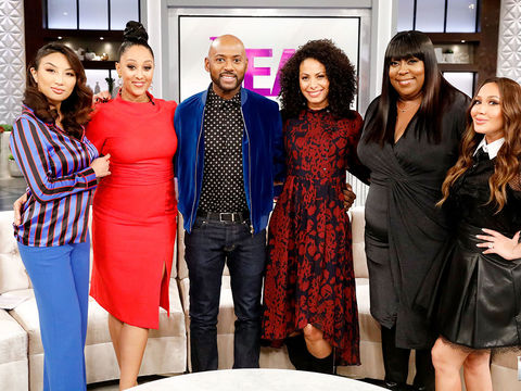 Thursday on 'The Real': Christina Moses and Romany Malco