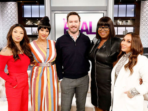 Monday on 'The Real': Mark-Paul Gosselaar, Lena Waithe