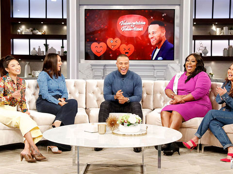 DeVon Franklin Gives The Hosts Tips on Turning Around Valentine's Day