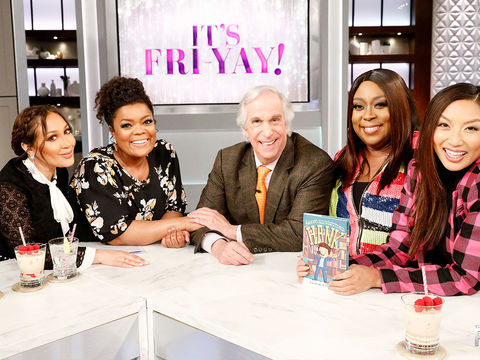 Friday on 'The Real': Yvette Nicole Brown, Henry Winkler