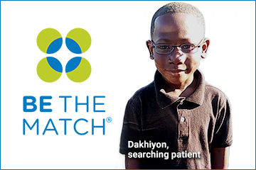 Help Save a Life at Join.BeTheMatch.org/TheReal