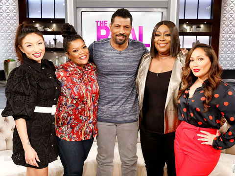 Tuesday on 'The Real': Yvette Nicole Brown, Deon Cole