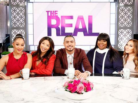 Tuesday on 'The Real': Quincy Brown
