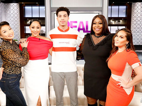 Wednesday on 'The Real': Marcus Scribner