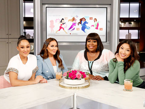 The Real – A Daytime Talk Show with co-hosts Adrienne