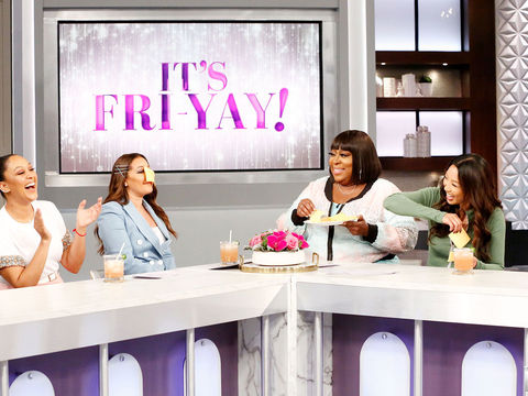 "Loni Takes The Challenge And Her Co-Hosts Say ""Cheese!"""