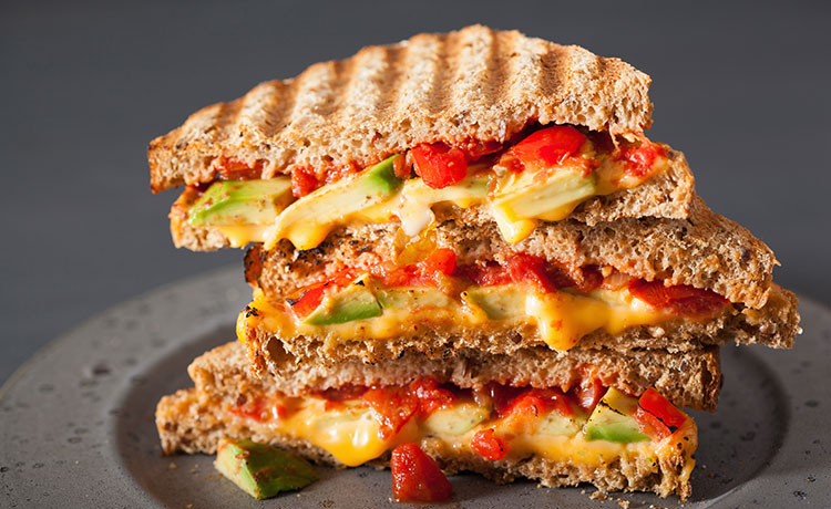 Shrimp Chile Grilled Cheese