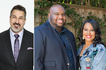 Joey Fatone, Pastors John and Aventer Gray