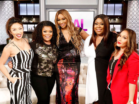 Wednesday on 'The Real': Yvette Nicole Brown, Cynthia Bailey