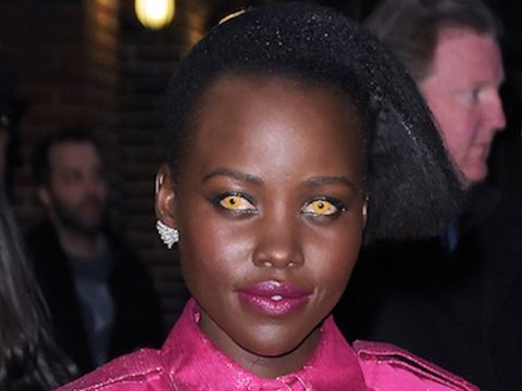 Trend Alert: Lupita Nyong'o's Colorful Contacts