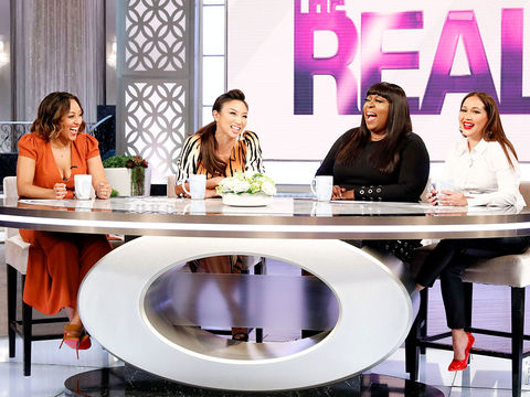 The Real – A Daytime Talk Show with co-hosts Adrienne Houghton ec63d3002