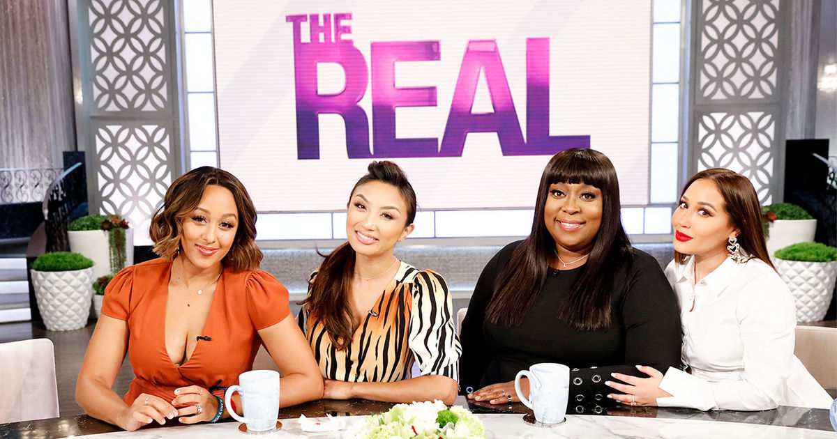 Monday on 'The Real': Spring Up Makeup