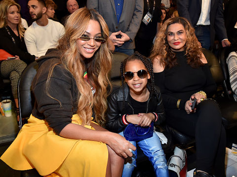 Tina Knowles-Lawson Gushes Over Beyoncé's 'Au Naturel' Hair in Cute Video