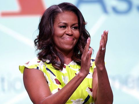 Aww! Michelle Obama Posts Throwback School Pic for World Charity Day