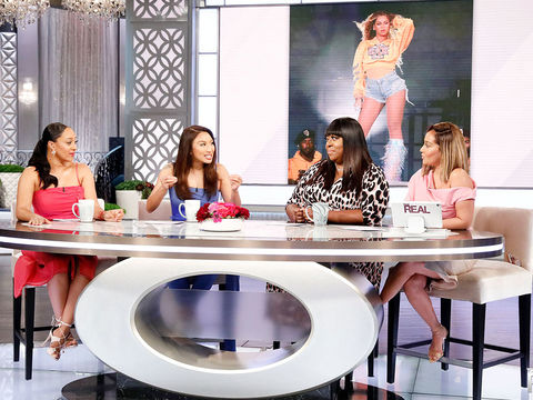 Tamera Thinks It's Refreshing To Hear Beyoncé Discuss Her Postpartum Weight…