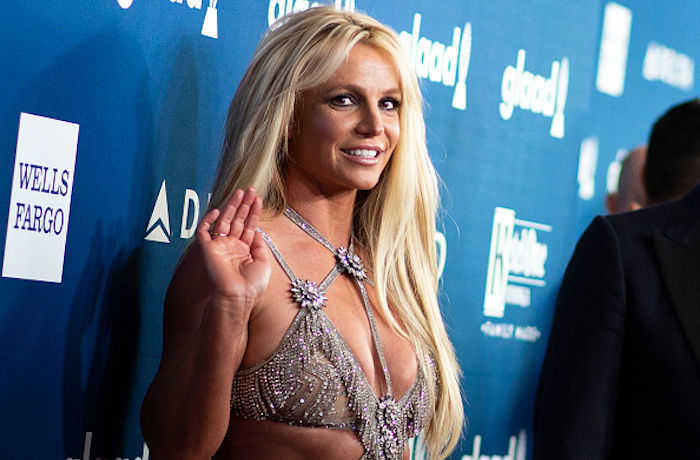 Britney Spears Shows Off Her New Brunette Look!