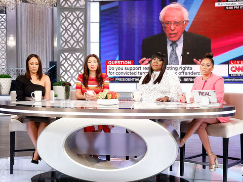 The Hosts Debate The Topic Of Voting Rights For Convicted Felons