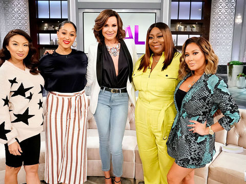 Wednesday on 'The Real': Countess Luann de Lesseps