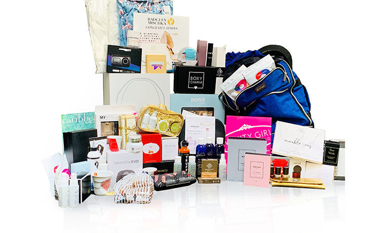 Emmys gift bag provided by P&L Media