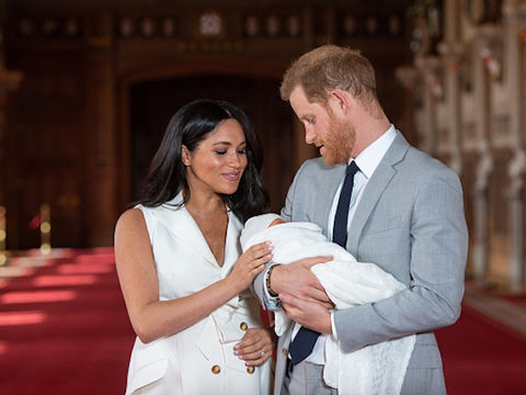Meghan Markle Shares New Photo of Archie for Prince Harry's Birthday