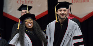 Missy Elliott & Justin Timberlake Receive Honorary Doctorates from Berklee…