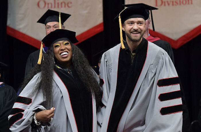 Missy Elliott & Justin Timberlake Receive Honorary Doctorates from Berklee College of Music