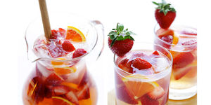 Tamera and Adam's Strawberry Sangria