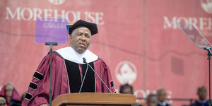 Billionaire Robert F. Smith Announces He'll Pay Morehouse College Grads' Loan…