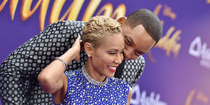 Jada & Will Couple Up for the 'Aladdin' Premiere!