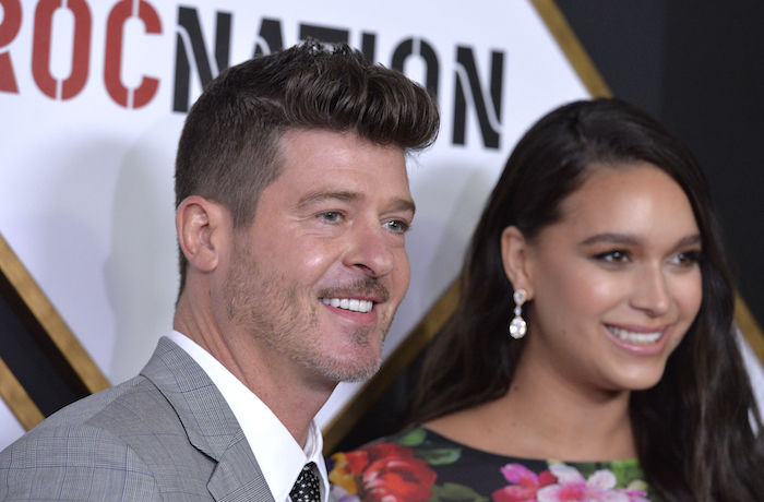 Robin Thicke's Fiancée April Love Geary Responds to Shaming Over Feeding Her Daughter Flamin' Hot Cheetos