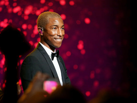Pharrell Pledges Internships to Over 100 High School Grads