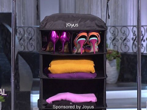 Travel Smart With the Joyus Luggage Shelf Now 50% Off!