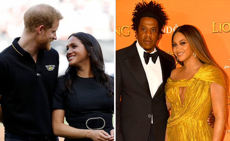 Beyoncé and Jay-Z Met Meghan Markle and Prince Harry!