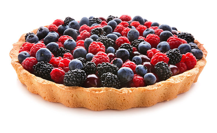 Berry Icebox Pie