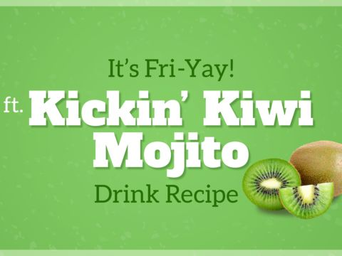 HAPPY FRI-YAY: Kickin' Kiwi Mojito