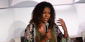 Michelle Obama Is 'Doing Just Fine' After Revealing 'Low-Grade…