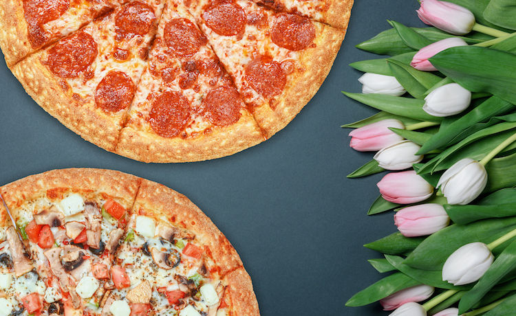Trend Alert (Wedding Food Edition): Pizza Bouquets