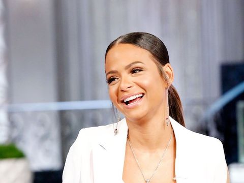 Christina Milian Is All Smiles Showing Off Her Baby Bump!