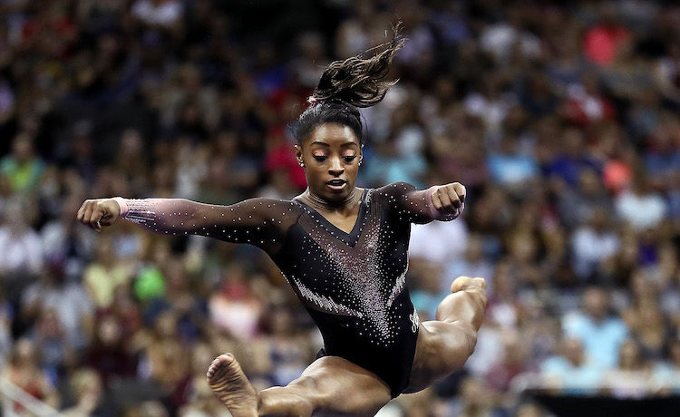 Simone Biles Makes Gymnastics History!