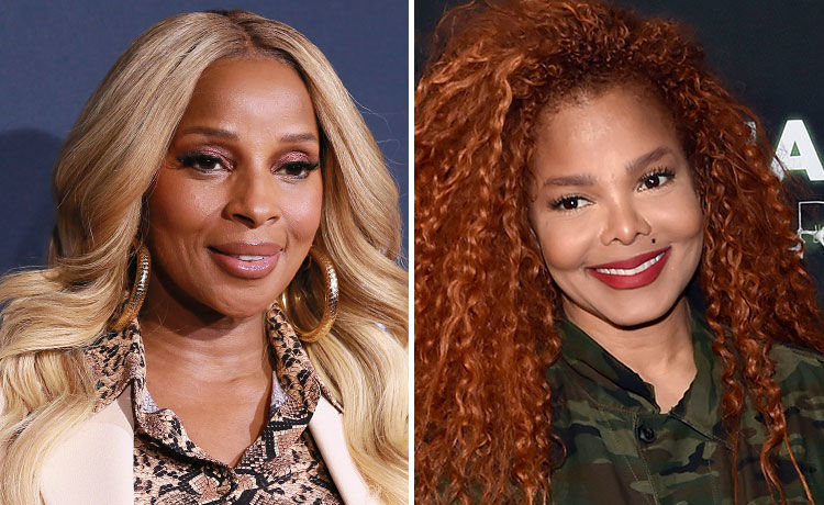 Mary J. Blige Supports Janet Jackson at Her Vegas Show!